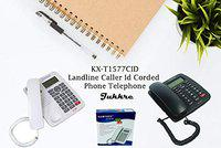 Jukkre KX-T1577CID Caller ID LANDLINE Telephone for Home & Office - Multi (20 x 15 x 5)