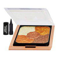 Mars 5 in 1 Pallet Visible Lift Blur Blush BP09-05 For Professional Makeup With Free Adbeni Kajal Worth Rs. 125