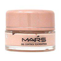 Mars Queen Collection Oil Control Foundation A2300 With Free Adbeni Kajal Worth Rs. 125