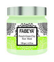 FABEYA French Green Clay Face Mask,130 Gram