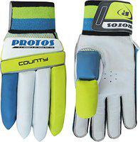Protos County Batting Gloves (Size : Men) (Right Hand)