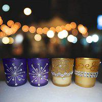 Sky Trends Scented Shot Glass Candle || Tea Light Candle || Diwali Candles||Festival Candles