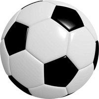 Football PVC Size 5 Pack of 1 (Black and White)