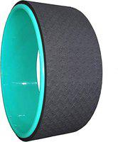 Tima Yoga Wheel - Circle Roller Gym Workout Back Training Tool Home Slimming & Most Comfortable Dharma Yoga Prop Wheel, For Women Men Props Effective For Weight Management Posture Correction Back Pain Therapy Lumbar Support High End Yoga Product 33X13cm