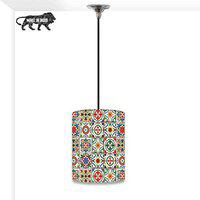 Nutcase Designer Ceiling HangingPendantLampShade Light for Living Room, Bedrooms-with Free Soft White Light Bulb - Talavera Mexican Style
