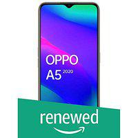 (Renewed) OPPO A5 2020 (Dazzling White, 3GB RAM, 64GB Storage) with No Cost EMI/Additional Exchange Offers
