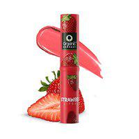 Organic Harvest Lip Balm Strawberry With Mango Butter For Dry & Chapped Lips, ECOCERT & PeTA Certified, Paraben & Sulphate Free -3gm