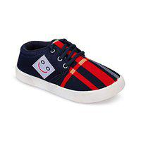 SWIGGY Casual Shoes Lace Up Sneakers for Kids Boy's (1509) Blue