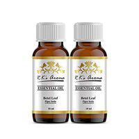 Rks Aroma Betel Leaf Essential Oil 100% Pure & Natural, 10ml (Pack of 2)