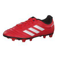 Adidas Boy's Copa 20.4 Fg J Active Red/FTWR White/Core Black Football Shoes-4 UK (EF1919)