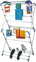 HOUZIE Cloth Dryer Stand -Oyster- Very Easy to Assemble Made in India