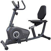 Kobo RB-1 Magnetic Recumbent Exercise Bike for Fitness with Adjustable Seatmagnetic Resistancehand Pulse and Monitor LCD Display (Imported)