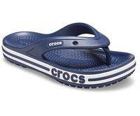 crocs Boy's Navy Flip-Flops (28.5 EU) (11 Kids US) (206321-410)