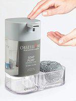 Obsessions Agua Crystal Soap Pump for Kitchen/Table Ware Transparent Color