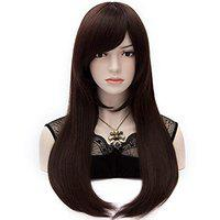 LeModish Full Lace Ladies Wig Natural Straight Hair, Size-18 Inches