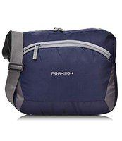 Adamson Blue Mens Polyster slingbag for Travels, College, Business, Holiday Trip ASB-008