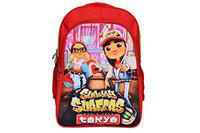 Rainbow Red Subway Surfer Casual School Bag for - Kids