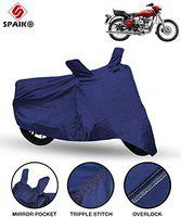 Spaiko Bike Body Cover for Royal Enfield Bullet 350 (Blue)