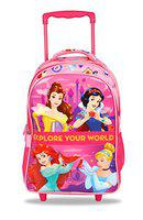 Disney Princess Explore Your World 35 Ltrs 46 Cms Pink School Bag/Backpack with Trolley