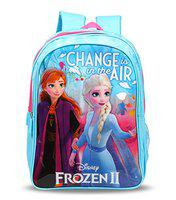 Disney Frozen2 Change is in The Air 30 Ltrs 41 Cms Blue & Pink School Bag/Backpack
