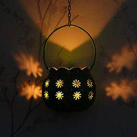 Webelkart Premium Rajasthani Ball Tealight Holder with Hanging Chain- for New Year Party & Christmas Party