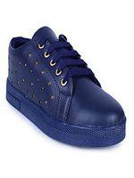 Woodbrough Sneaker Star Casual Sneakers For Women (euro36, Navy Blue)