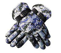 Prime Outdoor Gloves Protective Riding Cycling Bike Motorcycle Winter Gloves For Men Boy Multi Color Pack Of 1