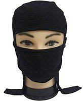 Activa Full Face Pollution Mask Cap for Bike/Motorcycle/Walk/Cycle (black)