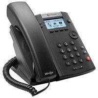 Polycom VVX 201 Two-Line PoE Corded Business Media Phone
