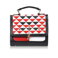 Don Cavalli Women's PU Leather Slingbag For Women (RED)