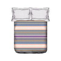Portico New York Marvella 144 TC Queen Bedcover with 2 Pillow Covers - Multicolour