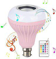 Rewy SDE001 Portable Led Bulb Bluetooth Speaker Compatible with All Device (Assorted Colour)