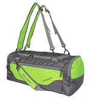 Triumph Giant Multipurpose Sports Gym Bag Size 22x12x11 Grey Lime