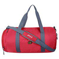 Alfisha Polyester Waterproof Portable Fitness Sports/Gym Bag for Men and Women (Red)