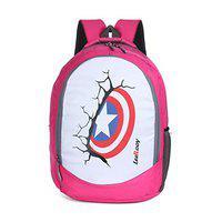 LEEROOY BG 08 Pink 35 LTR Canvas Messenger Bag