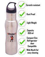 eKitchen Stainless Steel 650 ml Water Bottle (1, 650 ml)