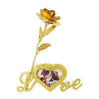 Kids Mandi Artificial Rose And Photo Stand (Multicolour, 1 Piece)