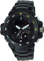 Maxima 57624PPAN Mens Outdoor Sport Wrist Watch, Large Analog Digital Watch - Dual Display Japanese Movement, Heavy Duty, 3ATM Water Resistant (Black)