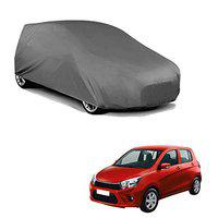 Varshine CAR Cover for Suzuki Celerio X Model || Export Quality Fabric || Water Resistant and UV Protection || Triple Stitched || Dark Grey Color || with Out Mirror Pocket || V3XL || W98