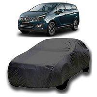 Starvin CAR Cover for Mahindra Marazzo Model || Export Quality Fabric || Water Resistant and UV Protection || Triple Stitched || Dark Grey Color || with Out Mirror Pocket || V8XL || 65