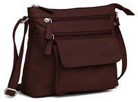 WILDHORN Women's Handbag (WHLB1003_Maroon)