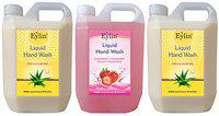 EYLIN PERSONAL CARE COMBO CONSISTS OF 2 LITERS OF LIQUID HAND WASH-WILD ORCHID PERFUMED & 1 LITER OF RAVISHING STRAWBERRY PERFUMED LIQUID HAND WASH. TOTAL 3 LITERS