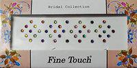 Bridal Collection Multi Colour Designer Bindi Pack of 5