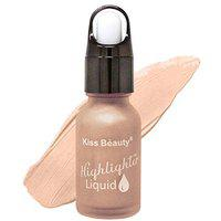 Kiss Beauty Long Lasting Moisture Cover Highlighter 58701-04, Rose Gold, 4g with Lilium Aloevera Cream