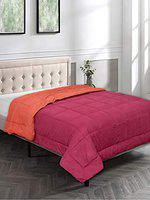Bombay Dyeing Slumber Lite Polyester One Double Reversible Quilt (224x274 cm)