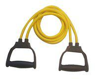 VIRTUAL WORLD Toning Tube Resistance Band for Exercise or Workout [Pack of One, Multicolor]