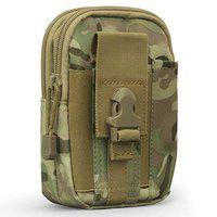 FORKLS Water Resistant Waist Belt Pouch, Sport Carry Pouch for Phone and Small Accessories (Army)