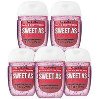 Bath & Body Works SWEET AS STRAWBERRIES 5-Pack PocketBac Hand Sanitizers