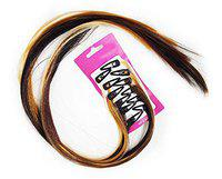 BOXO Front Hair Extensions/Hair Fringe/Hair Fringe Extensions for Women and Girls Black 15 gm Pack of 1 (syn black)