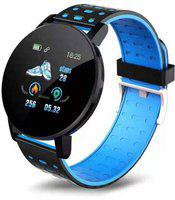 KEMIPRO Smart Band Fitness Tracker Watch Heart Rate with Activity Tracker Waterproof Body Functions Like Calorie Counter, Blood Pressure, Heart Rate Monitor LED Touchscreen (Blue)